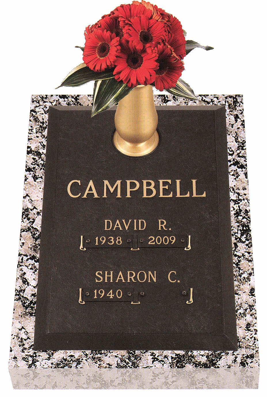 Double Interment Grave Marker Designs Cemetery Monument