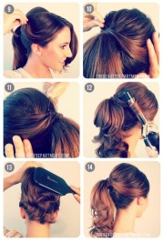 burlesque updo hairstyles long