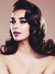 vintage curls long hair - burlexe