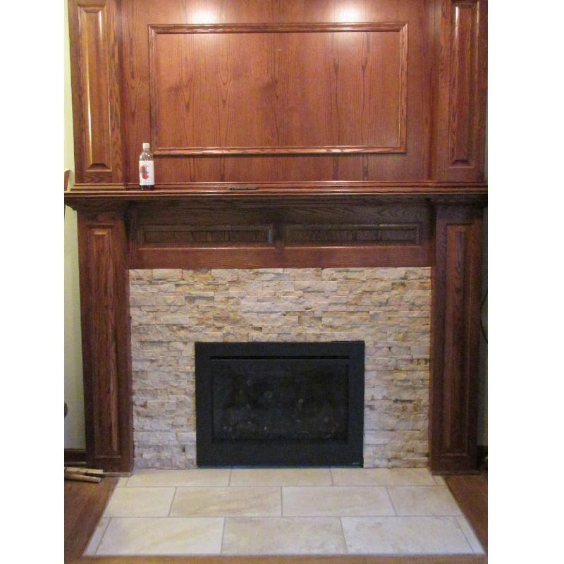 Custom Fireplace Installation