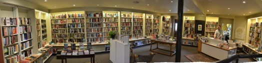 It's a small, independent bookstore that has been in business for more than forty years and continues to draw top level authors. Burlington is one of the few Canadians cities that consistently offers these events.