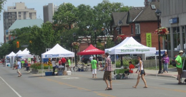 The Car Free Sunday on Brant Street last year was a bit of a bust. Council chose to hold these events on Appleby Line and up in the Alton Village this year.