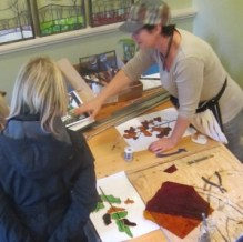 Teresa Seaton, a stained glass artist has been a prime mover behind the annual Art in Action tour - and is now part of the newly formed Arts and Culture Collective.