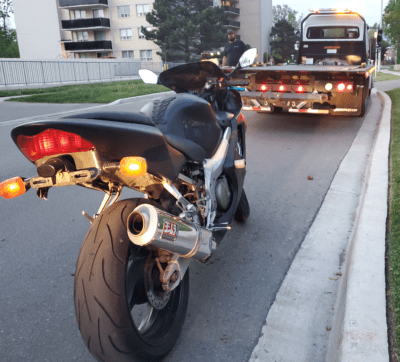 Motorcycle 9 - Tow