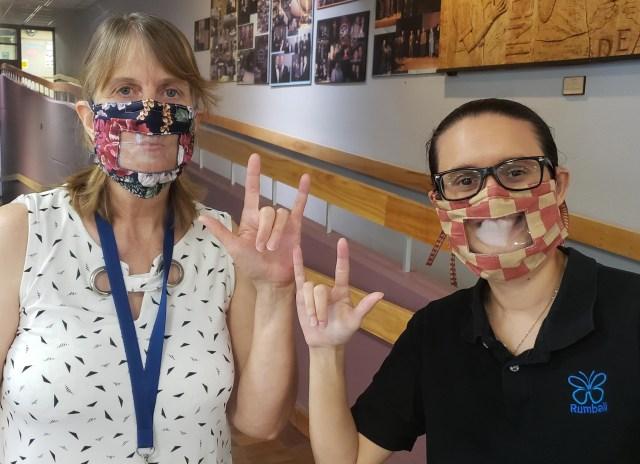 deaf masks 1