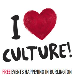 Culture days - Burlington mark