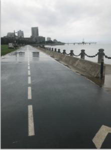 Naval promenade