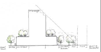Plaza angular plain
