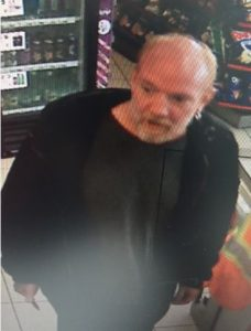 Robbery Suspect gasstation Walkers