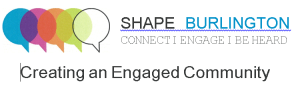 Shape Burlington logo