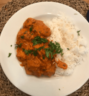 The curry
