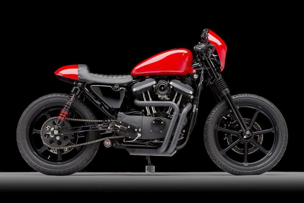 medium resolution of 2003 honda shadow spirit 750 cafe racer motorrad bild idee