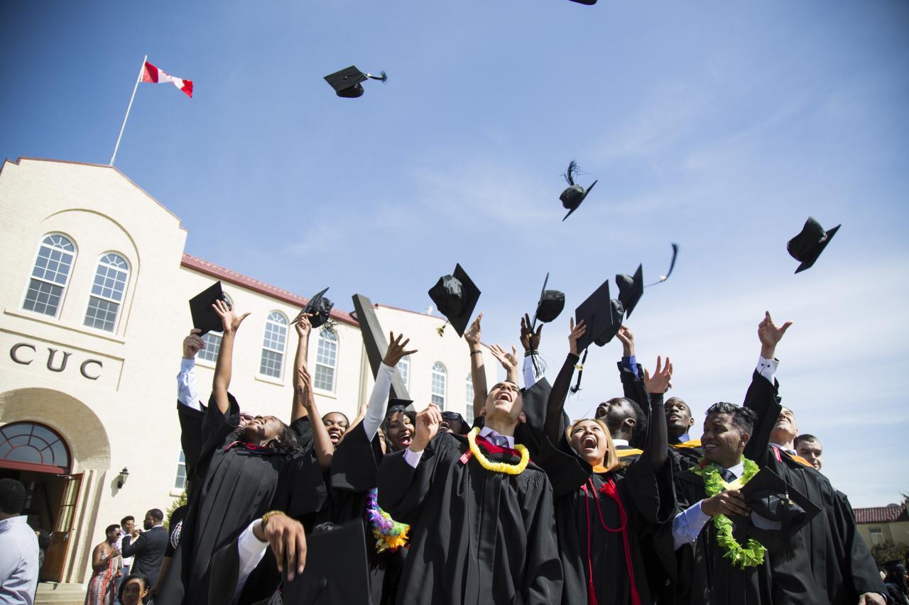 2017 Graduation Commencement  Burman University