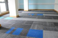 structure bonded carpet tiles at Inverclyde Council in