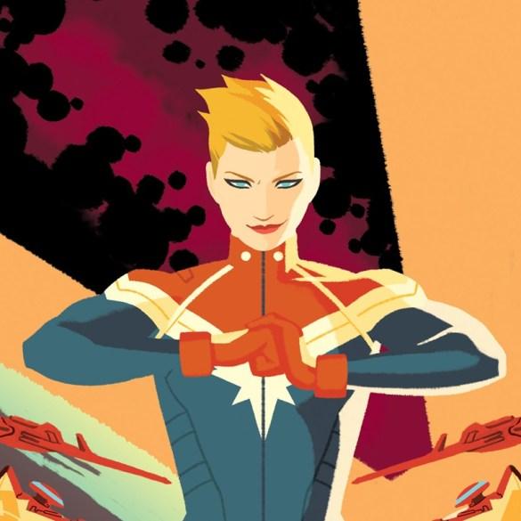 Filme Capitã Marvel ganha site com design dos anos 90 41