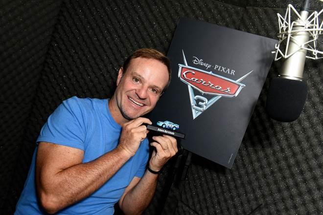 Rubens Barrichello irá dublar personagem de Carros 3 16
