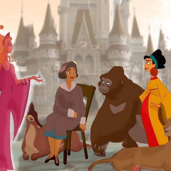As mães dos nossos personagens favoritos da Disney 16