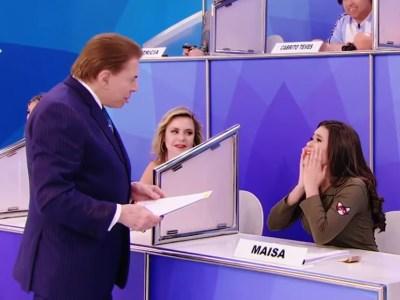 """Silvio Santos admite que também assiste """"13 Reasons Why"""" e Maísa surta: """"você é muito moderno!"""" 18"""