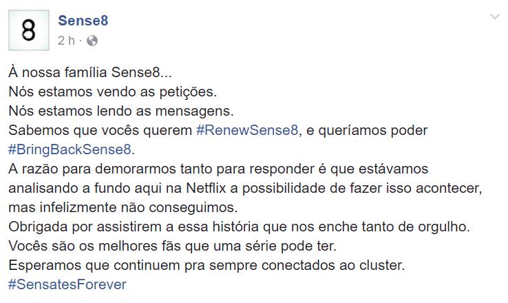 Netflix se pronuncia e garante que Sense8 não vai voltar! 17