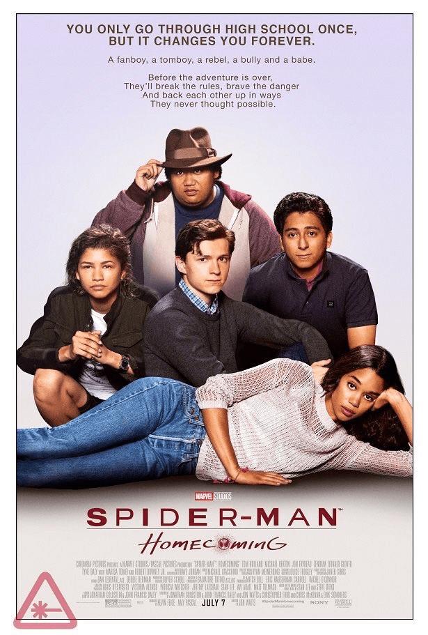 """Novo pôster de Spider-Man: Homecoming faz homenagem ao clássico """"O Clube dos Cinco"""" 16"""