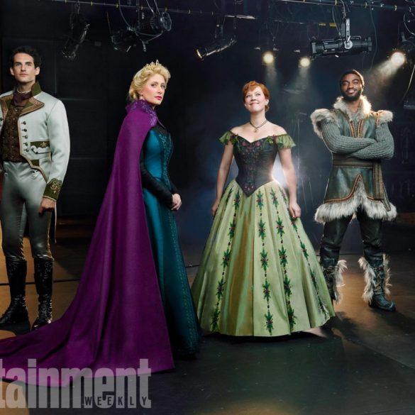 """Caissie Levy interpreta """"Let It Go"""" nas prévias da versão musical de Frozen na Broadway 26"""
