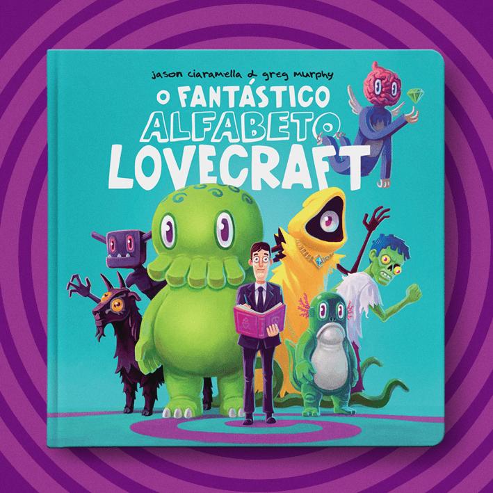 LOVECRAFT PARA TODOS! DarkSide anuncia 1º livro do selo infantil 16