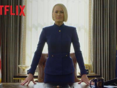 House of Cards | Claire Underwood assume o controle em trailer da da última temporada da série 13