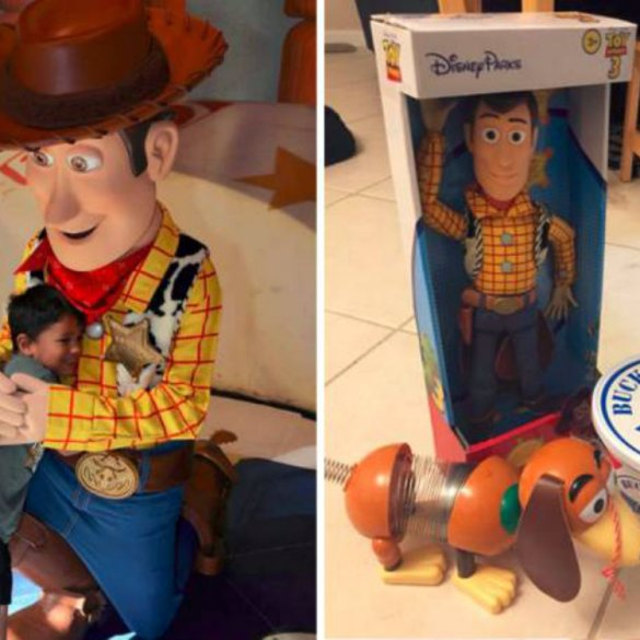 Após perder brinquedo no Walt Disney World, menino ganha surpresa 16