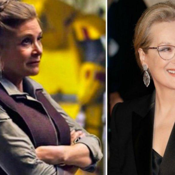 Fãs fazem abaixo-assinado para Meryl Streep substituir Carrie Fisher em 'Star Wars' 16