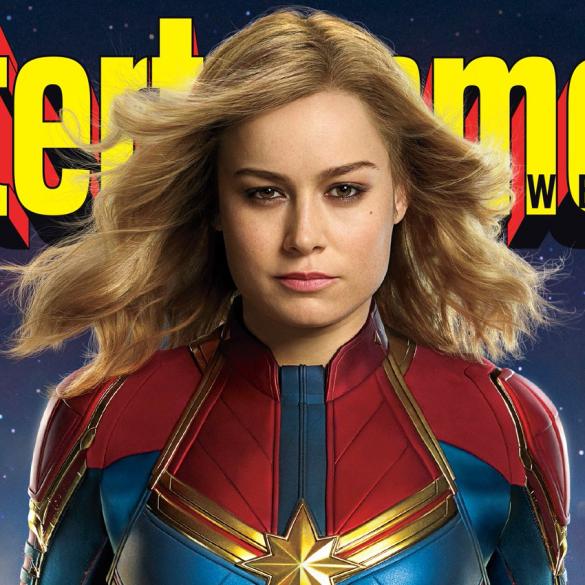 Capitã Marvel | Brie Larson quer criar um símbolo de força e humor para as mulheres com sua atuação! 26