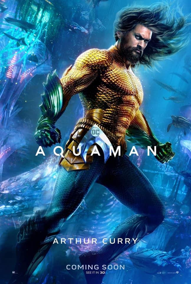 Aquaman – Divulgados novos pôsteres individuais dos personagens 17