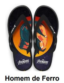 Piticas lança chinelos inspirados em personagens da Marvel 21