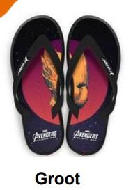Piticas lança chinelos inspirados em personagens da Marvel 23