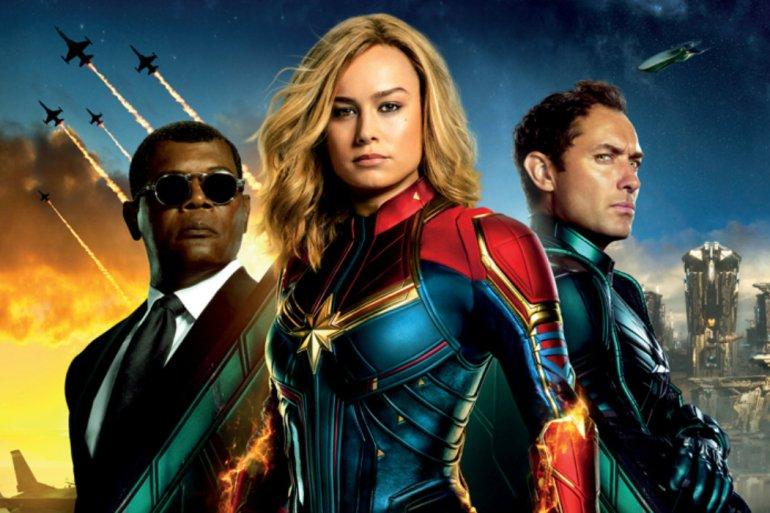 Filme Capitã Marvel ganha site com design dos anos 90 24