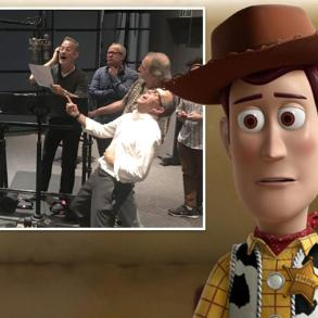 Toy Story 4 | Tom Hanks publica foto ao encerrar gravações de Woody 21