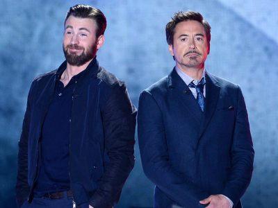 Chris Evans é a razão para o sucesso do MCU, diz Robert Downey Jr. 42