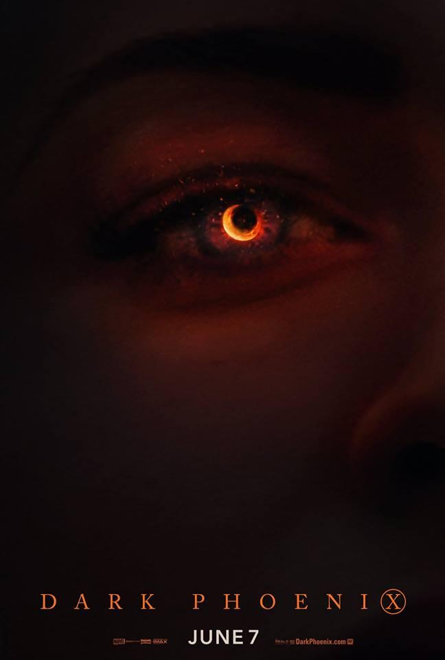 Novo pôster de X-Men: Fênix Negra faz referência a imagem do Buraco Negro 17