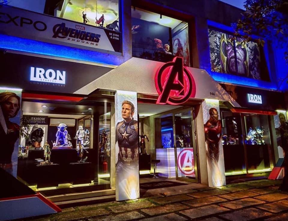 """Exposição Avengers em São Paulo: """"Avengers: EndGame Expo"""" reúne estátuas em miniatura e em tamanho real dos personagens de Vingadores Ultimato 24"""