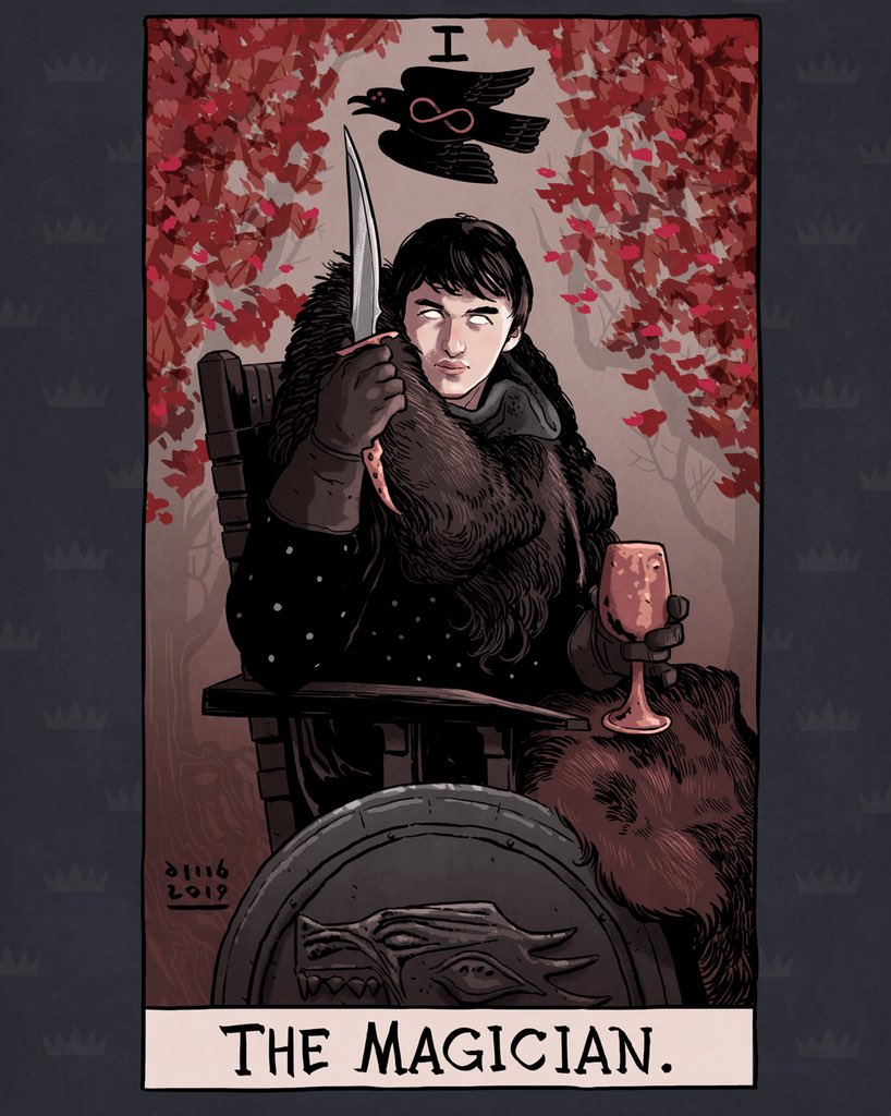 Artista ilustra Tarot incrível de Game of Thrones 26