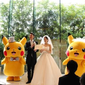 No Japão, será possível casar com tema licenciado de Pokémon 21