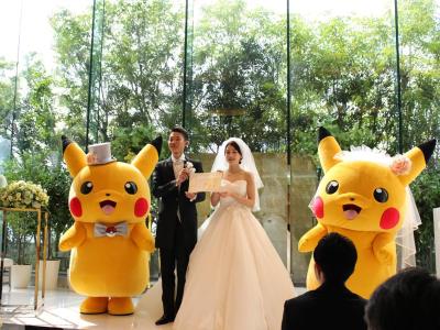 No Japão, será possível casar com tema licenciado de Pokémon 35