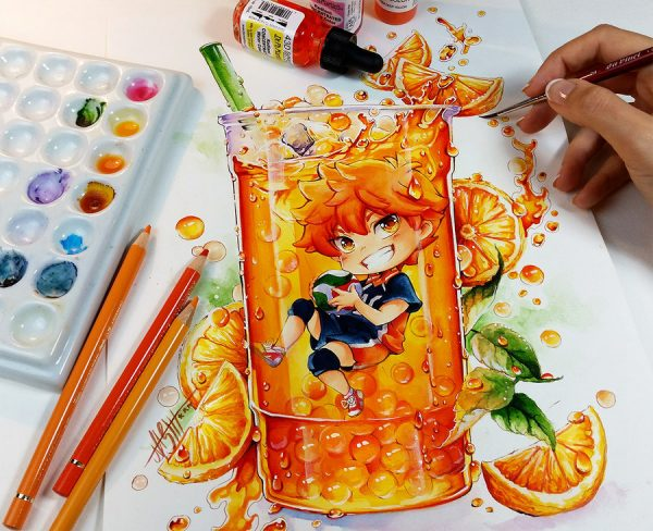 Artista desenha ilustrações fofas e geeks em versão Chibi 27