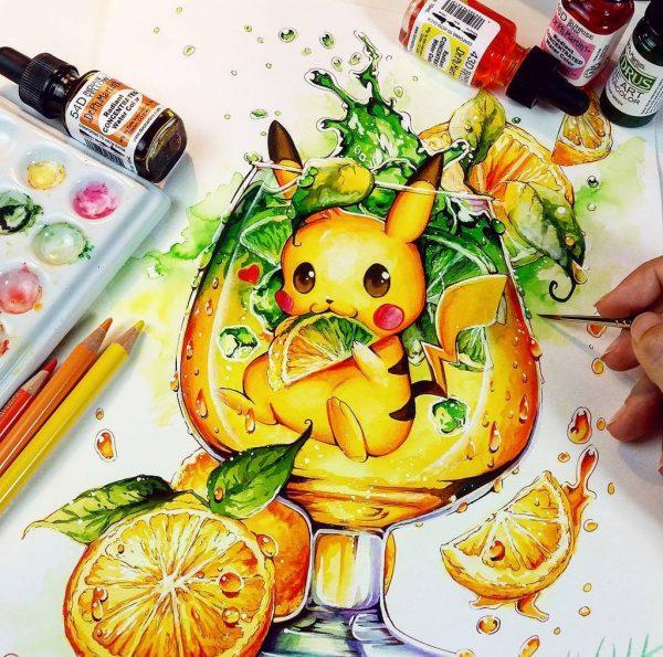 Artista desenha ilustrações fofas e geeks em versão Chibi 29