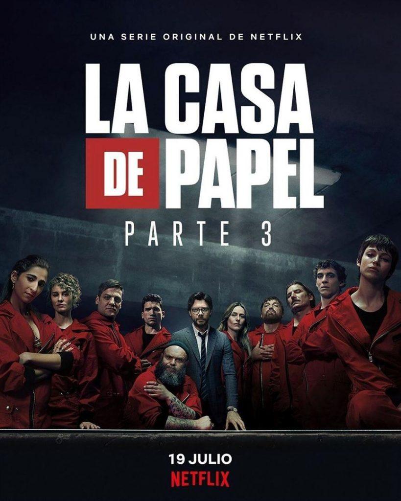 La Casa de Papel: Netflix revela cartazes individuais dos personagens 21