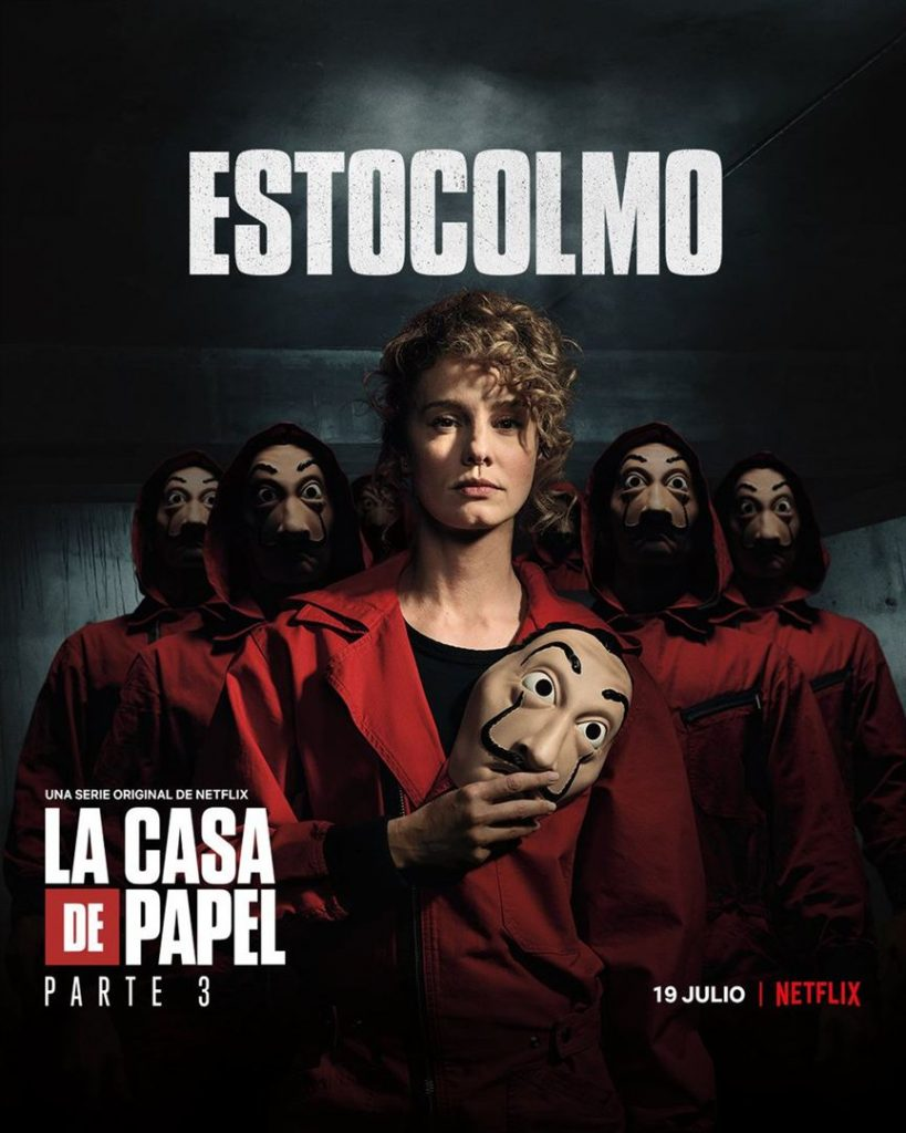 La Casa de Papel: Netflix revela cartazes individuais dos personagens 26