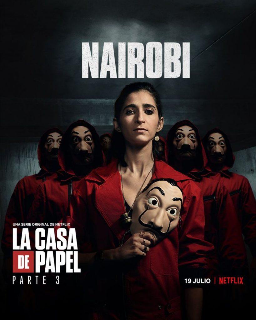 La Casa de Papel: Netflix revela cartazes individuais dos personagens 24