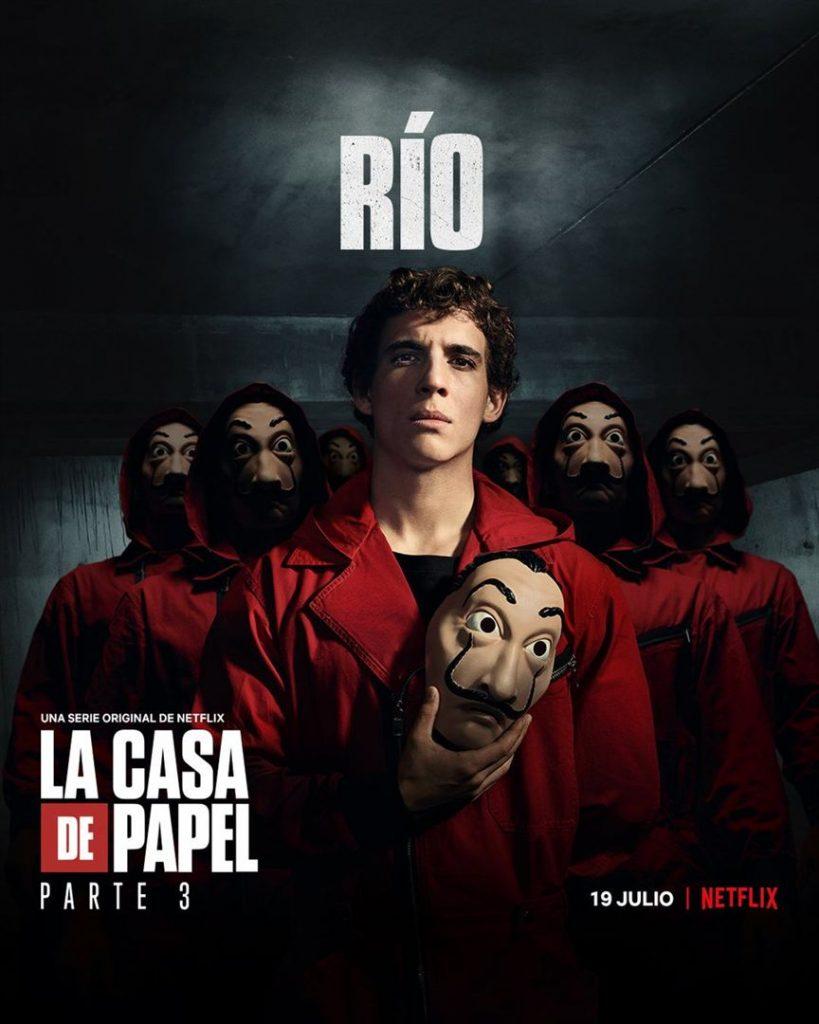 La Casa de Papel: Netflix revela cartazes individuais dos personagens 23