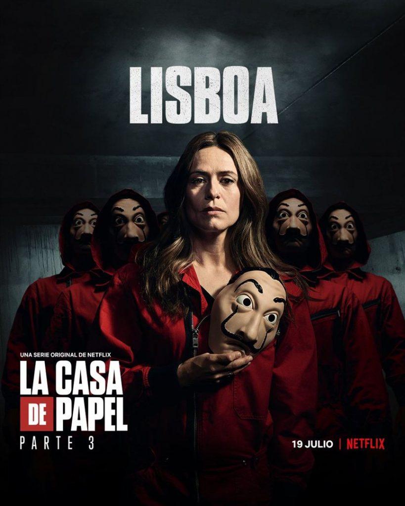 La Casa de Papel: Netflix revela cartazes individuais dos personagens 20