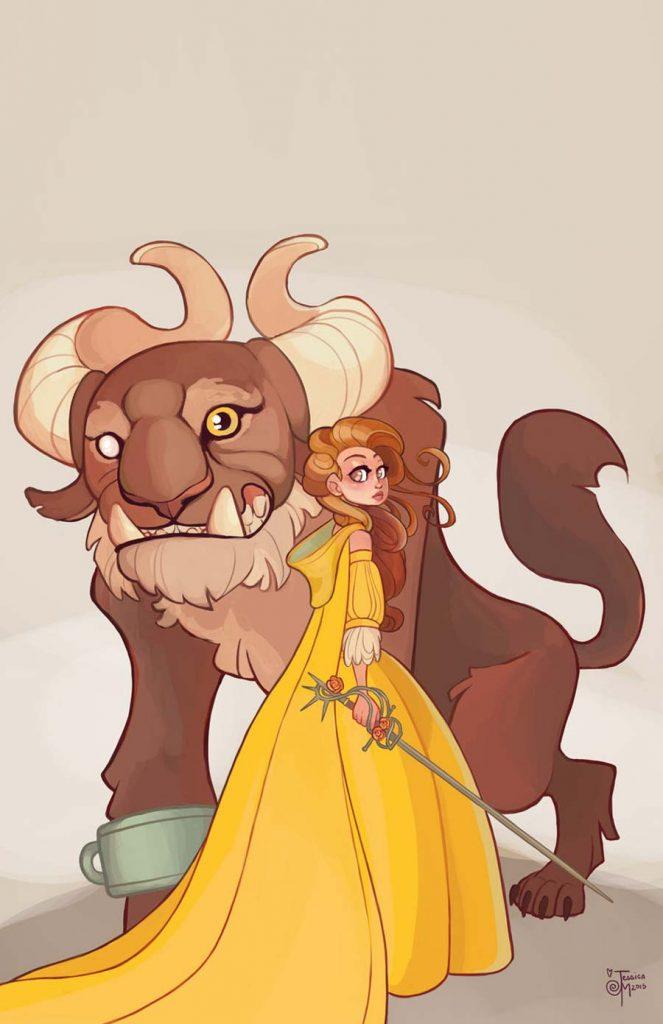 Princesas Disney guerreiras 27