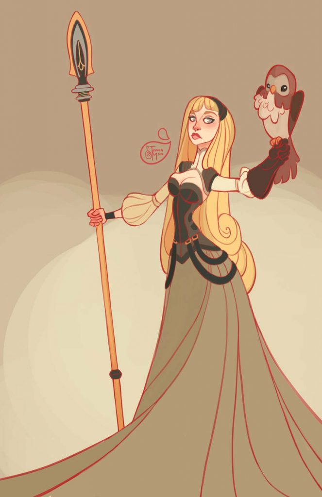 Princesas Disney guerreiras 21